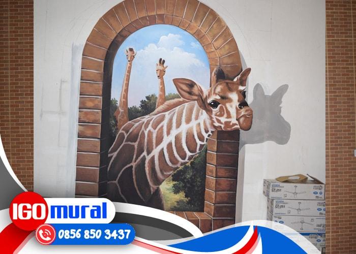 Jasa Gambar Lukisan Dinding 3d Rumah
