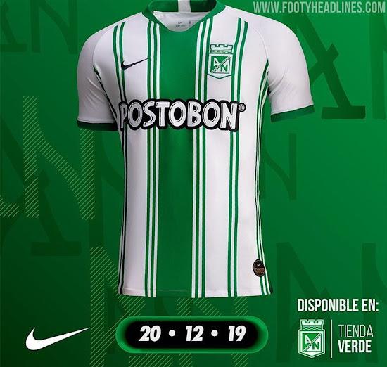 Atletico Nacional 2020 Home Away Kits Released Footy Headlines