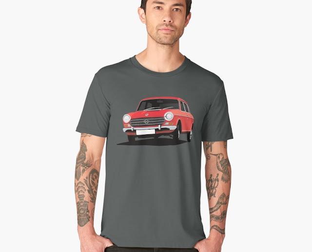 Morris 1800 Mk2 T-shirt red