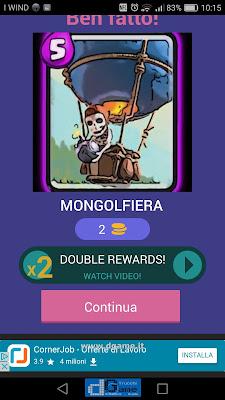Indovina la carta Royale soluzione livello 36