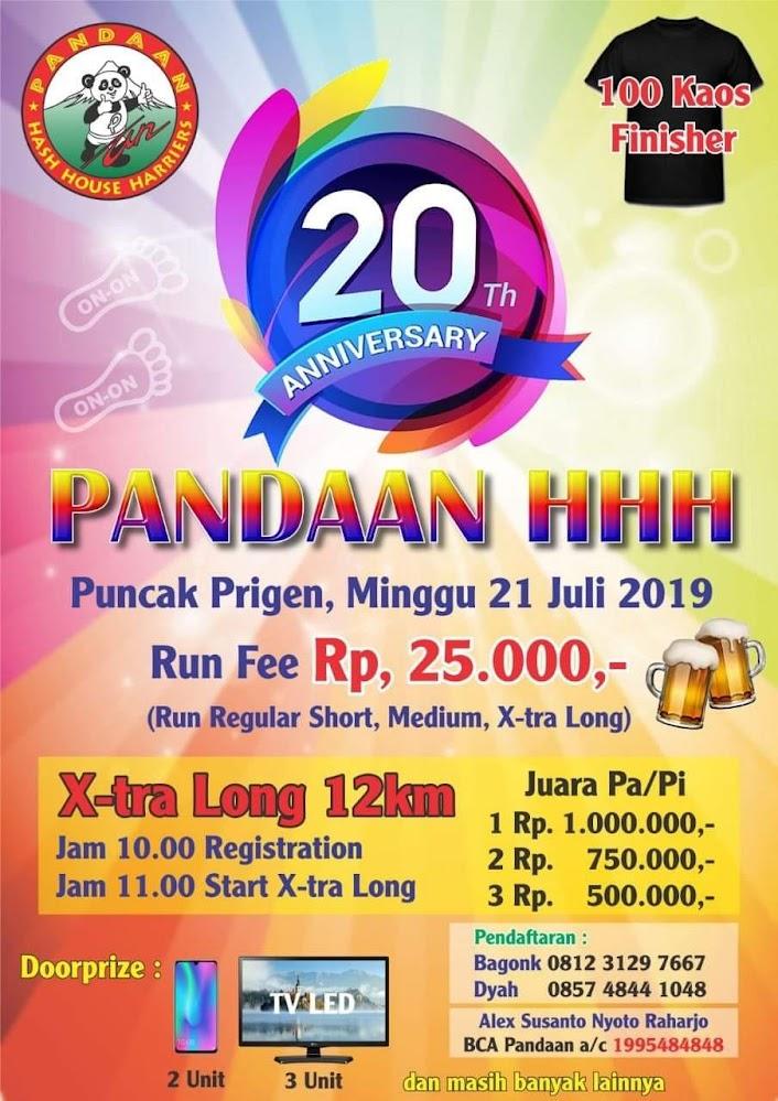 20th Anniversary - Pandaan HHH • 2019
