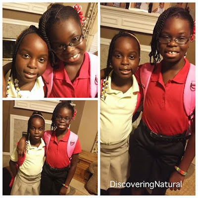 First Day of School and More Vlog Videos Natural Hair