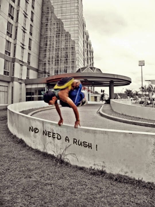 Parkour No Need A Rush