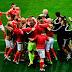 Bélgica abre o marcador, mas Gales vira usando jogada clássica