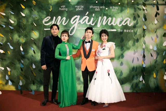 ra mắt phim Em gái mưa phiên bản điện ảnh