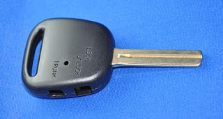 Crown Key Blank