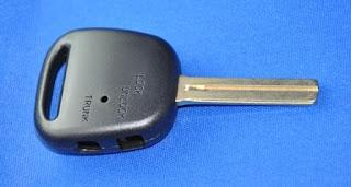 Crown Key Blank