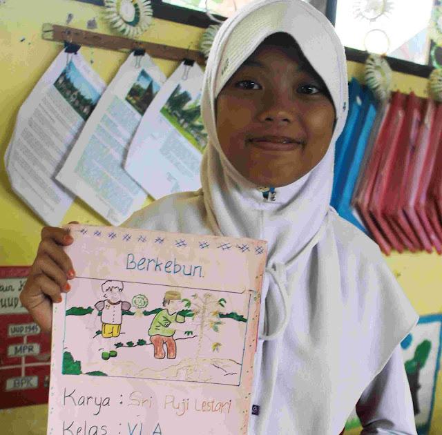 Bengkel Menulis, Gerakan Inspiratif Belajar Menulis SDN 7 Letta Bantaeng Sulsel