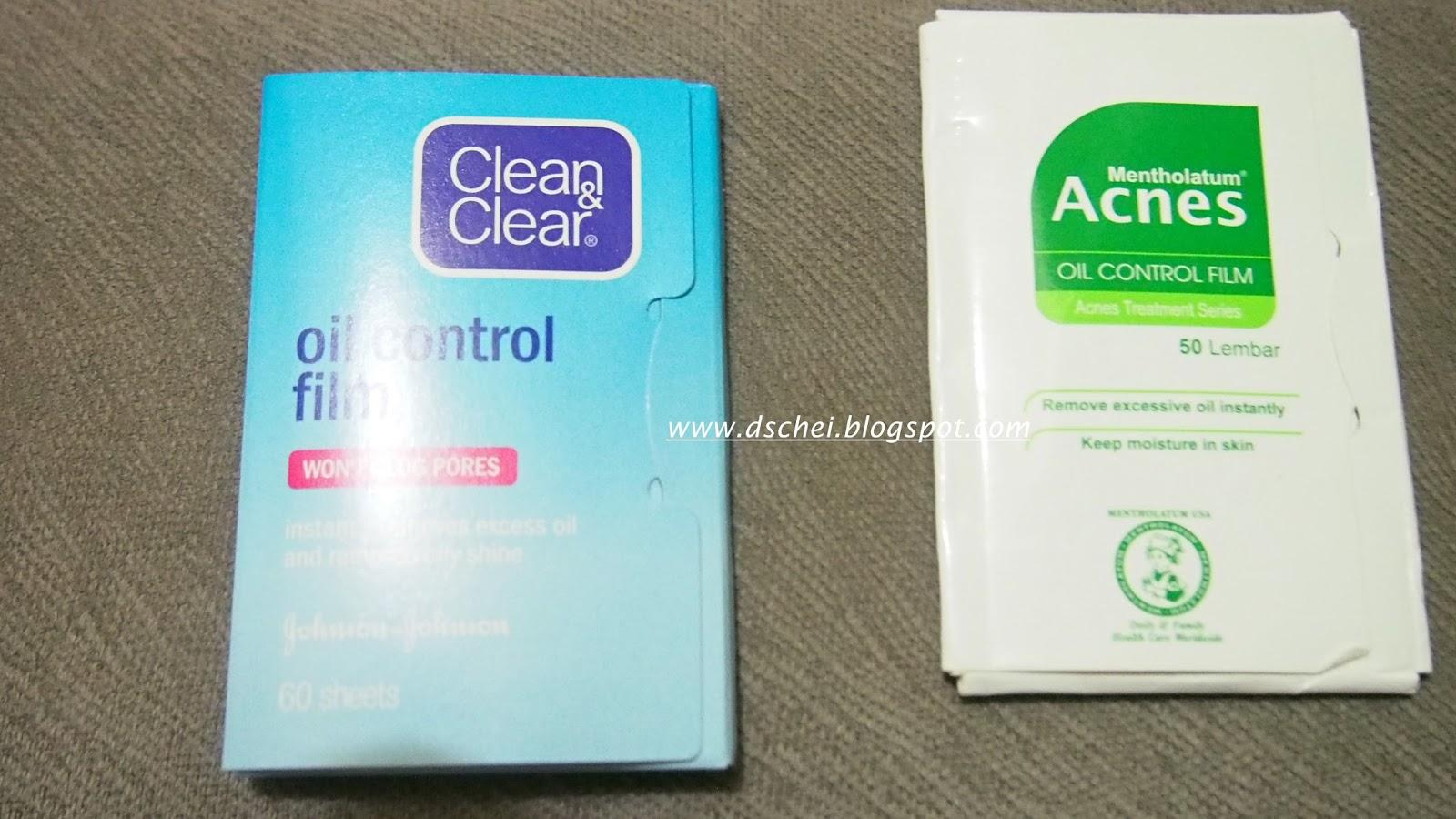 Dscheiii Review Acnes Oil Control Film Cleanclear Oil Control Film