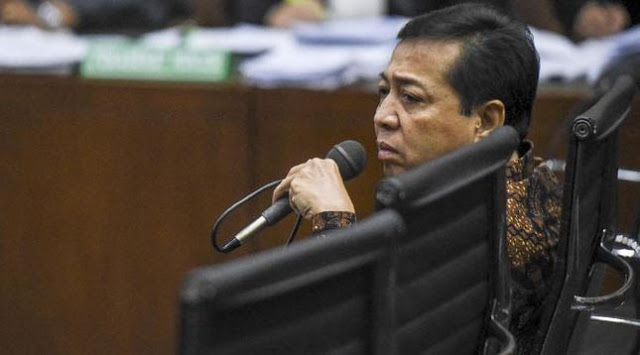 Papa Novanto Kembali Ditetapkan KPK jadi Tersangka Korupsi e-KTP