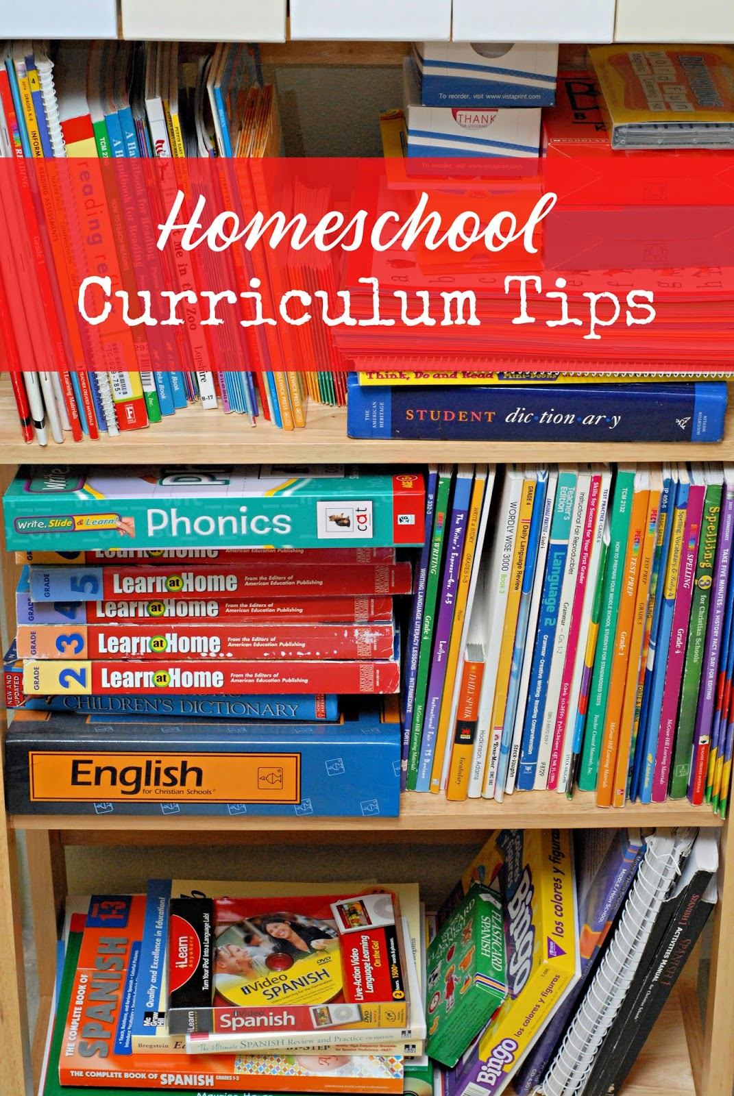 Tips for choosing a homeschool curriculum