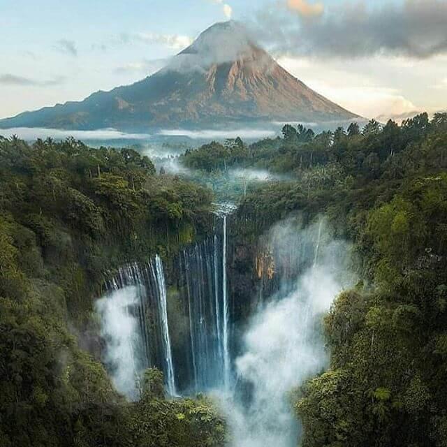 Air terjun Coban Sewu, Jawa Timur - Foto @gamalcya_j