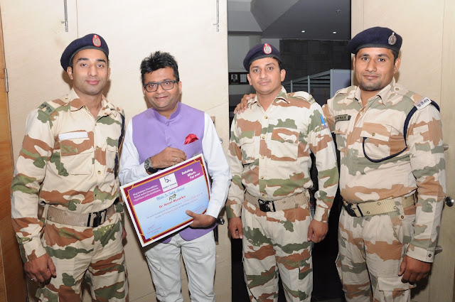 4. Dr. Aneel Murarka with Indian Army