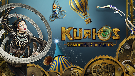 Tour dates for Cirque Du Soleil's KURIOS Cabinet of Curiosities in 2016 - 2017. Atlanta Georgia, Boston, Washington DC, New York City and Miami Florida!
