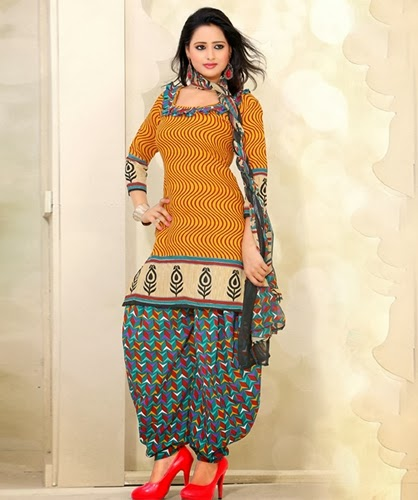 Cotton Salwar Kameez Suits 2014 15 Cotton Salwar Kameez Neck Designs 2014 New Fashion Lifestyles
