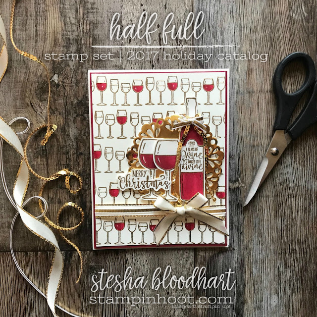 Half Full Stamp Set by Stampin' Up! for #tgifc136 Color Challenge