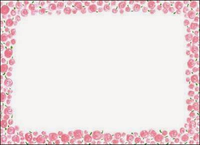 Marcos con Flores para Imprimir Gratis.