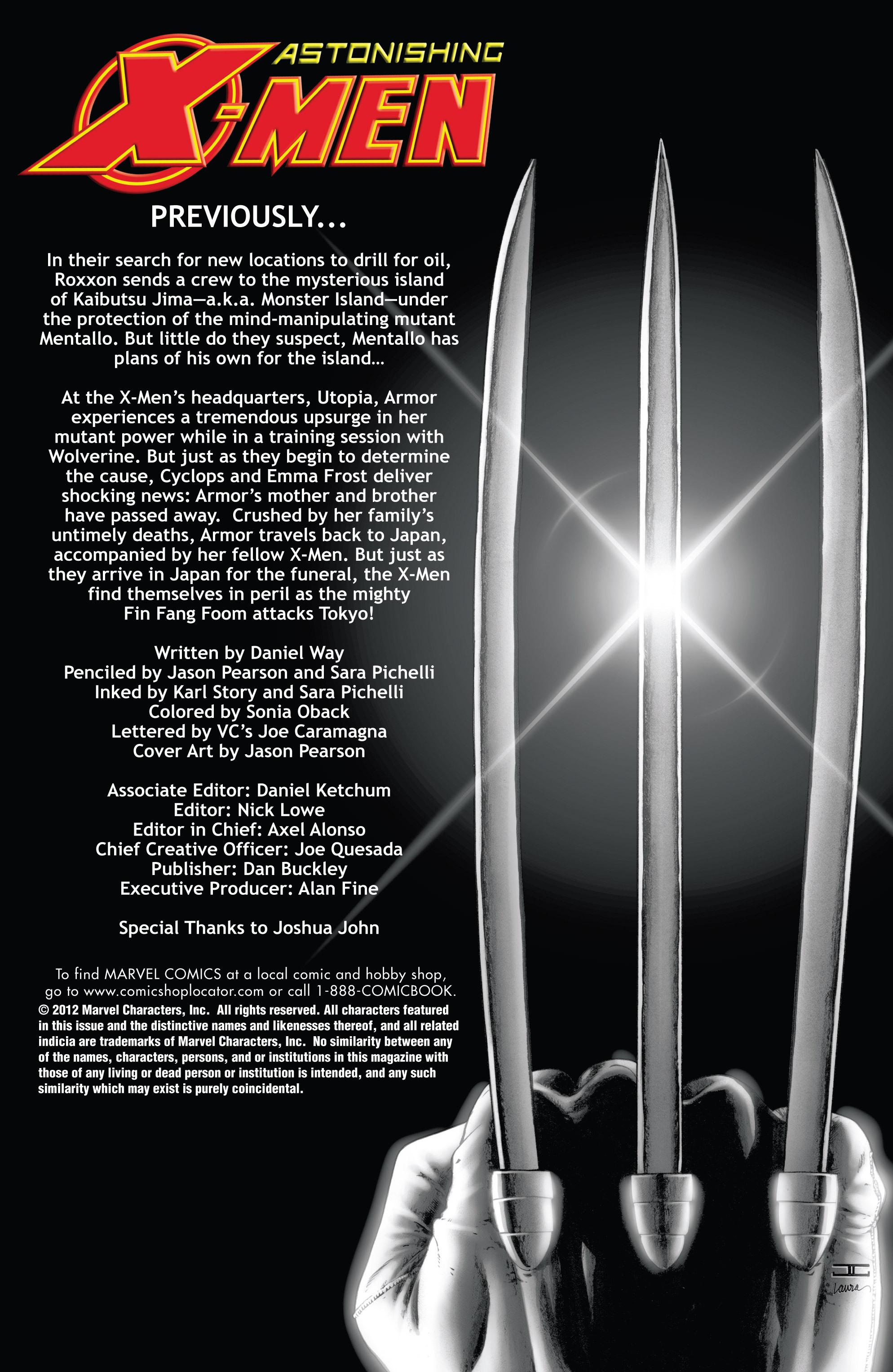 Astonishing X-Men (2004) 37 Page 2