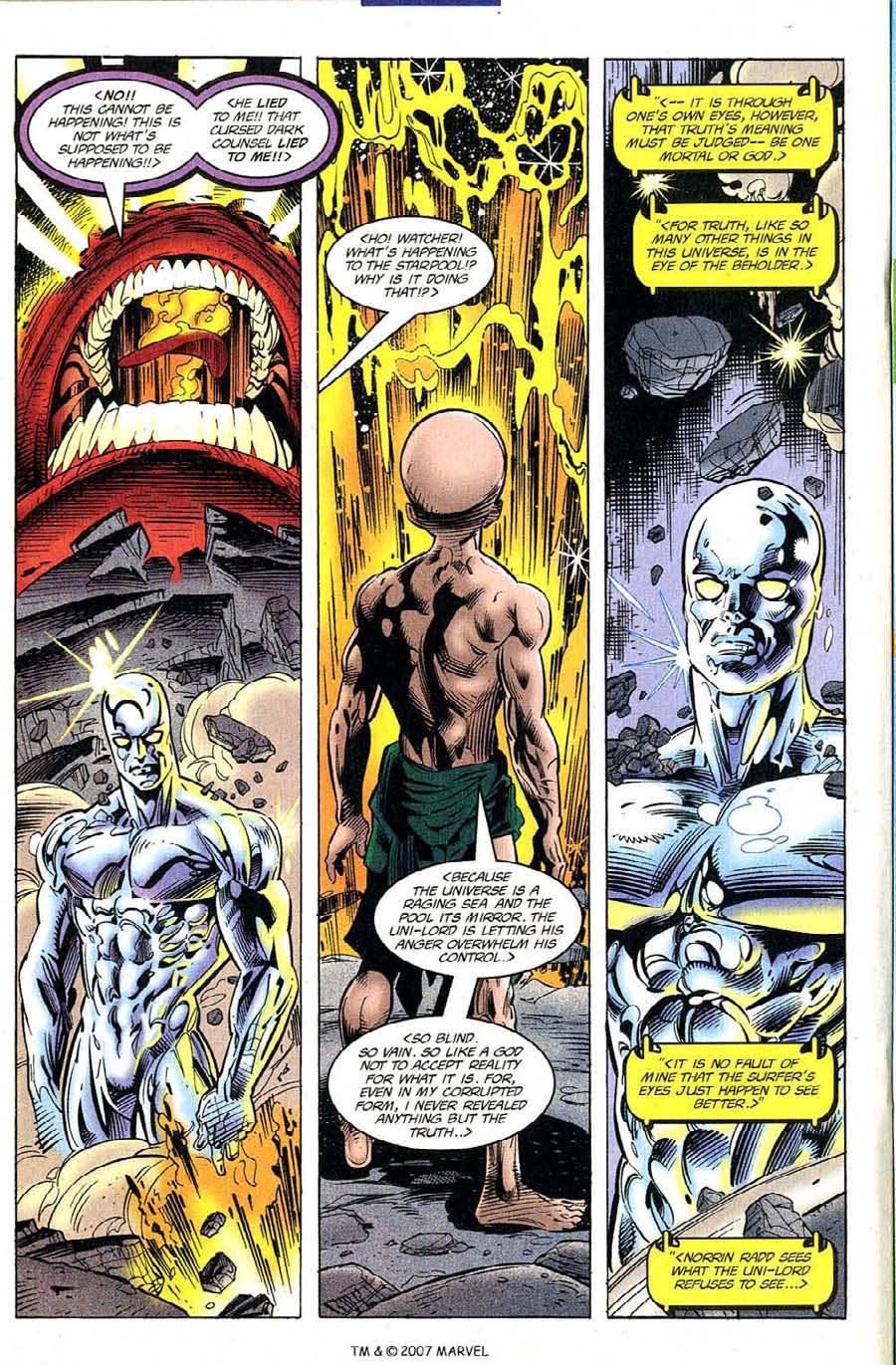 Read online Silver Surfer (1987) comic -  Issue #120 - 22