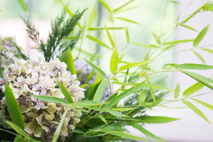 Centro de flores diy