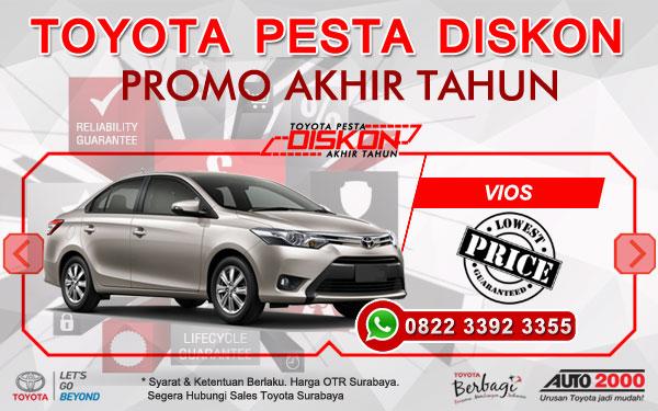 Promo Akhir Tahun Toyota Vios Surabaya