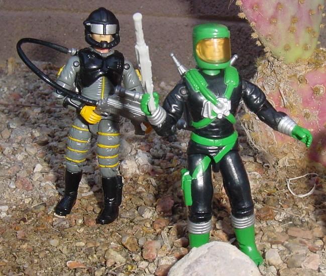 1991 Sci Fi, Laser Trooper, 1993 Payload, Star Brigade