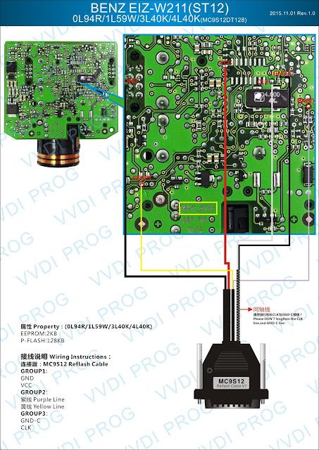 BENZ EIZ W211 ST12 0L94R/1L59W/3L40K/4L40K