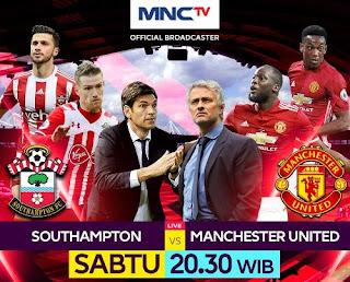 Jadwal Siaran Langsung Southampton vs Manchester United 23 September 2017