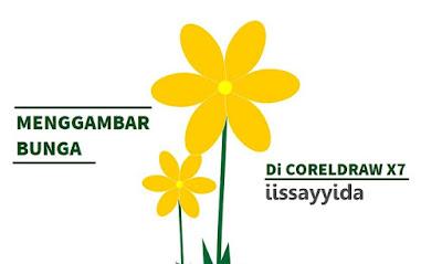 Cara Menggambar Bunga di Coreldraw X7