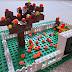 Fibonacci Fall LEGO Garden