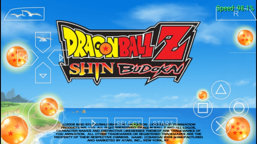 DRAGEN BALL Z SHIN BUDOKOI US A PPSPP RAR 176MB WROLDGAMING COM