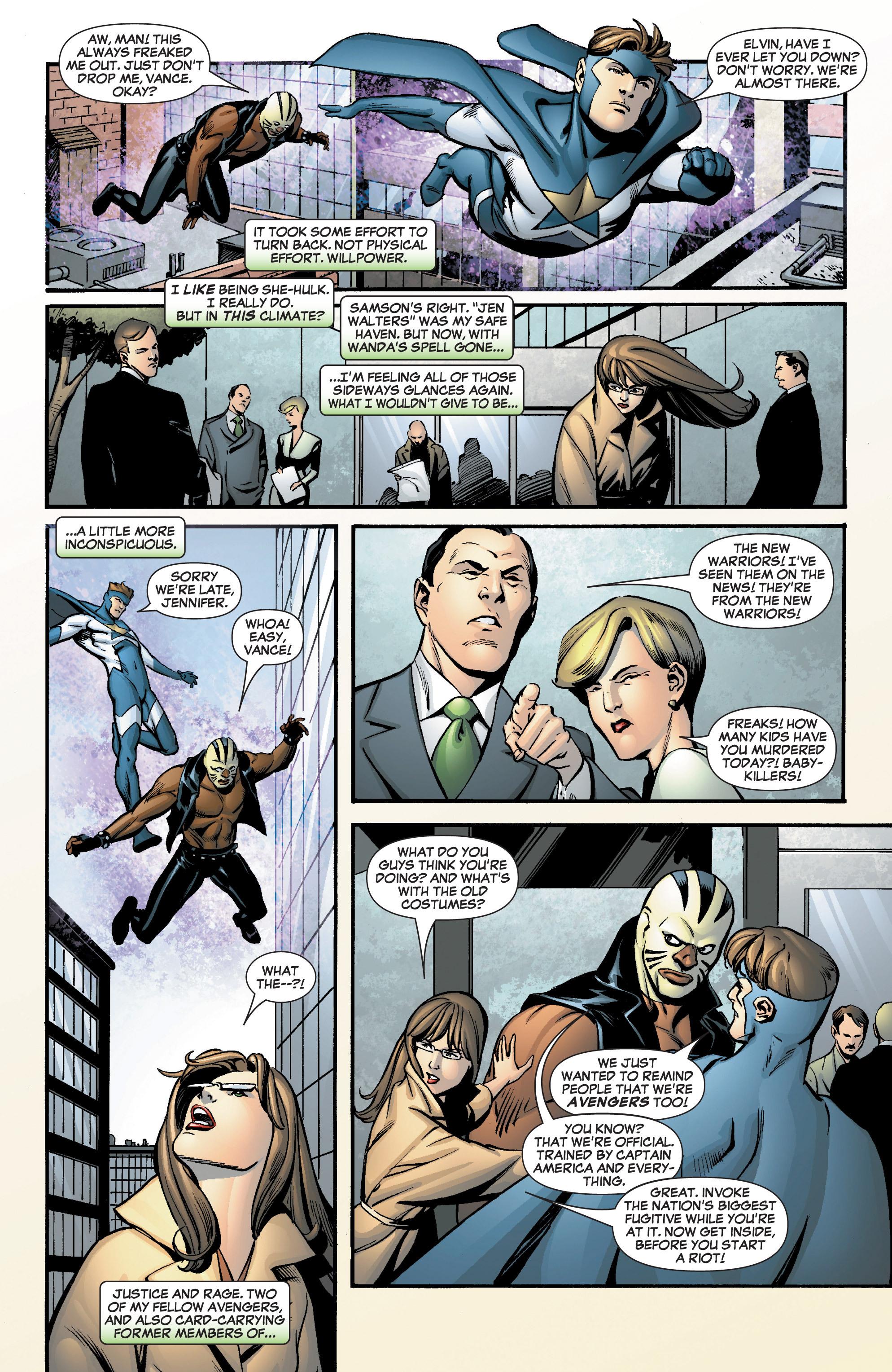 Read online She-Hulk (2005) comic -  Issue #8 - 8