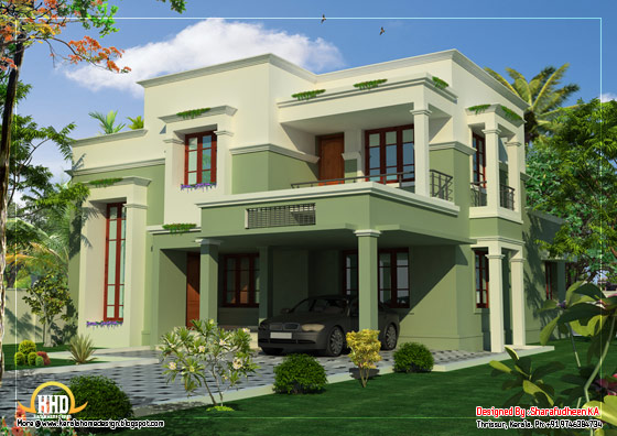 Double story house - 2367 Sq. Ft. (220 Sq. Ft.) (263 Square Yards) - March 2012