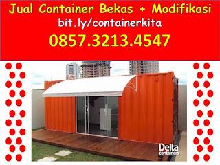0857.3213.4547 Jual Container Modifikasi di  Surabaya
