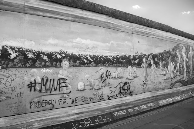 Berlin Wall picture in Jerman