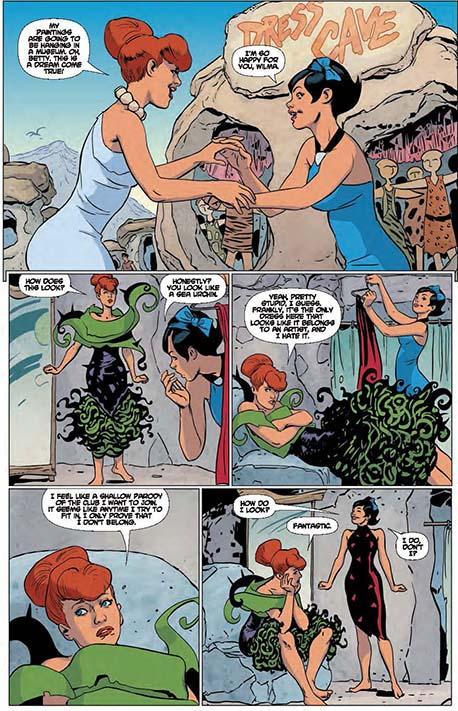 flintstones comics covers