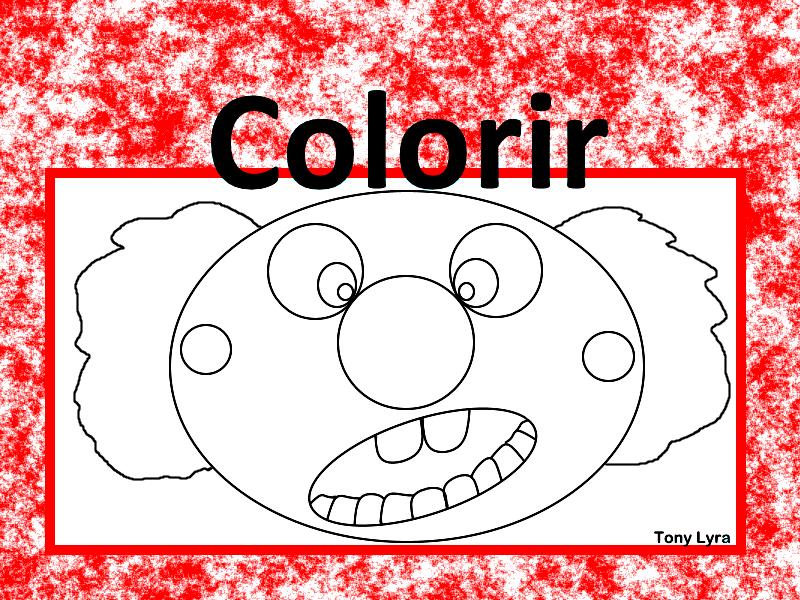 palhaÇo xixi passatempos do xixi colorir