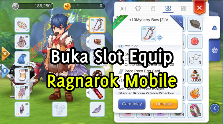 Cara Buka Slot / Socketing Equip Ragnarok M Eternal Love