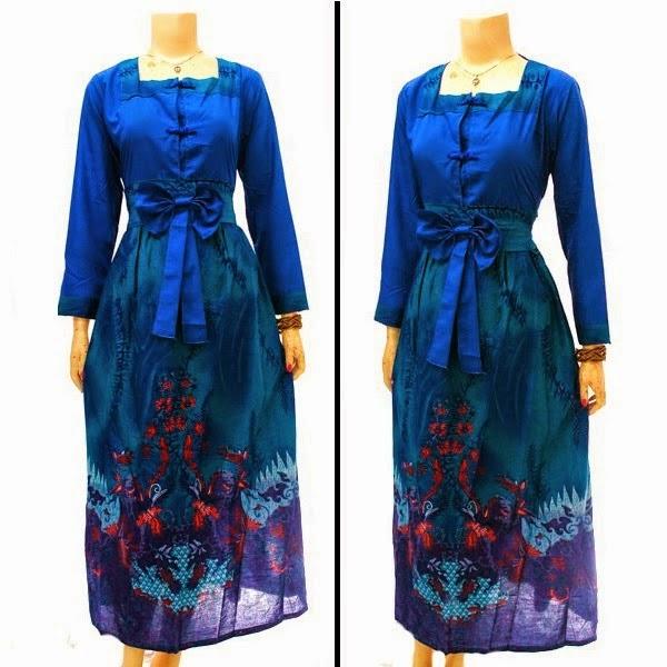 baju gamis batik untuk perpisahan gamis murahan