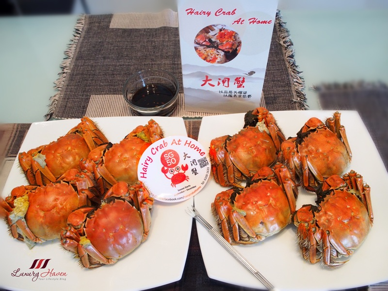 hairy crab at home delivery luxury haven reviews