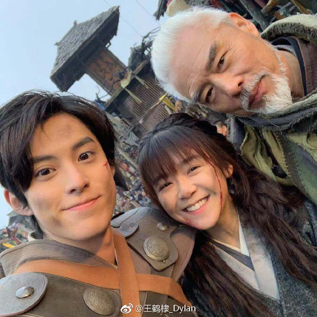 Ever Night 2 Behind the Scenes Dylan Wang Song Yiren