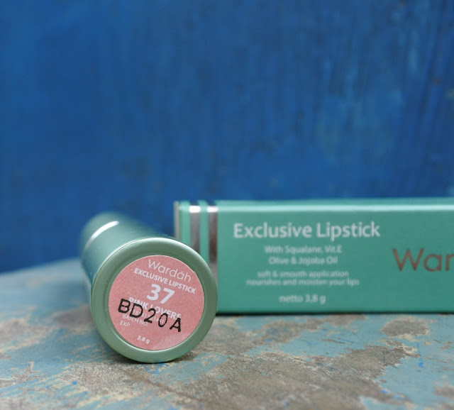 Review Wardah Exclusive Lipstick #37 Pink Lovers