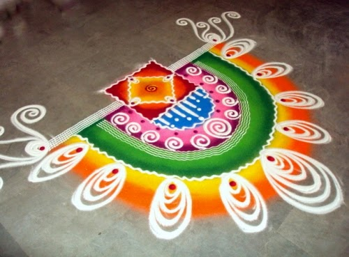 diwali floor rangoli design, wallpaper, images, photo, picture 2016