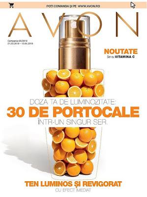 AVON  Catalog-Brosura № 5   21.03 - 10.04 2019