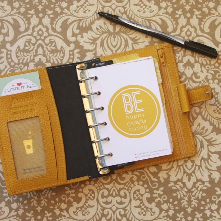 Friday Freebie + Planner Addicts Filofax Challenge | iloveitallwithmonikawright.com