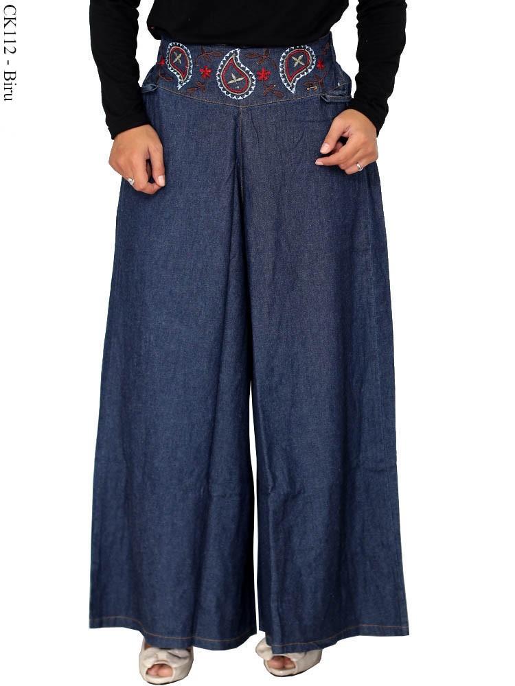 Ck112 Celana Kulot Muslimah Busana Muslim Murah Terbaru
