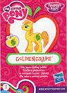 My Little Pony Wave 13 Goldengrape Blind Bag Card