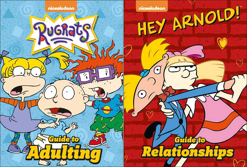 Has Created A Stand Out Marketing Campaign To Promote Its New Humour Les Published With Nickelodeon Rugrats Guide Ing And Hey Arnold