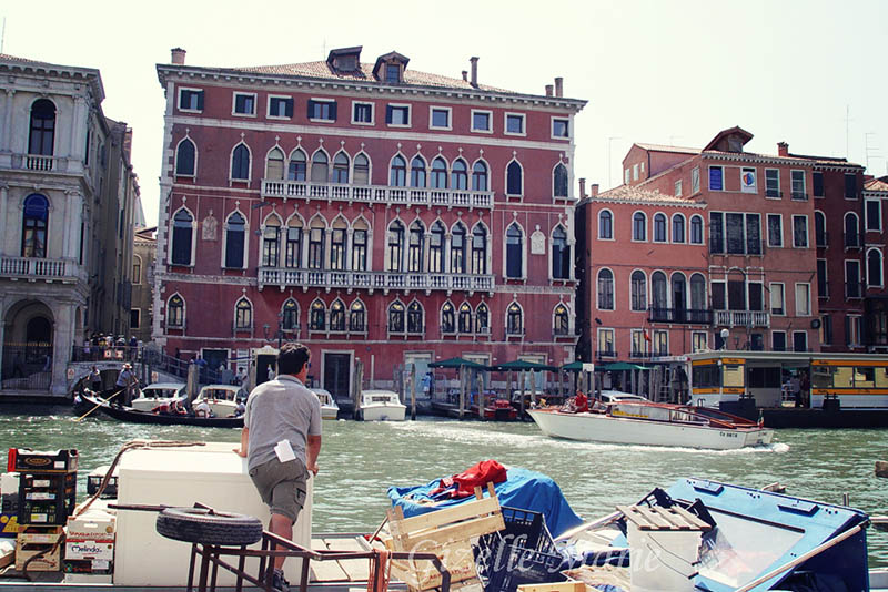 Finding Pink in Venice