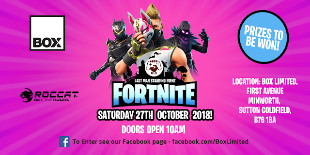 Fornite gamers face-off in Last Man Standing tournament